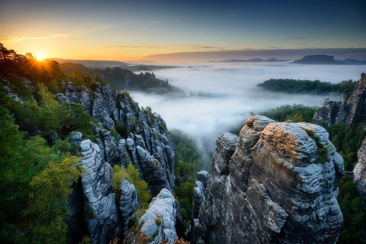 Rocks of Bastei