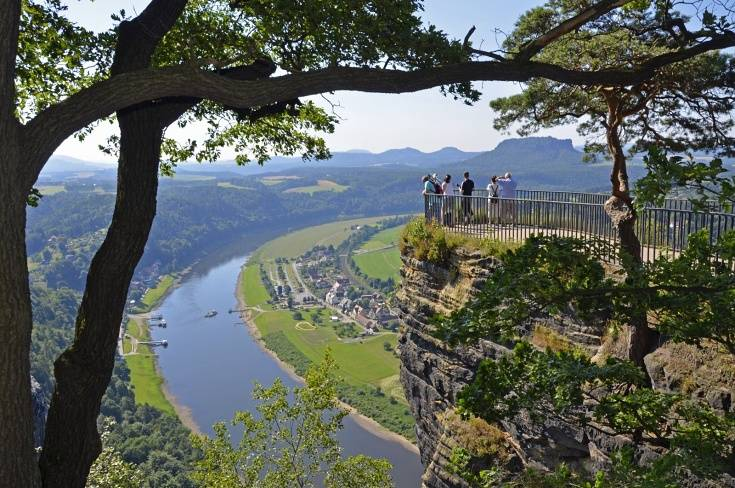 Highest lookout platform in Bastei