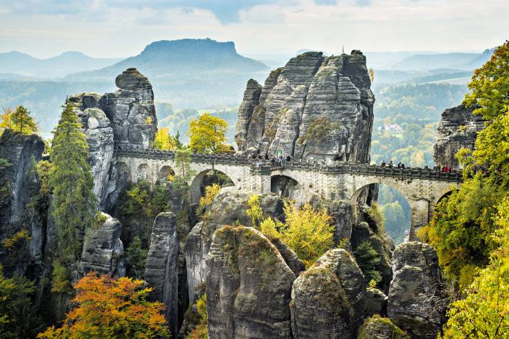 Sightseeing in Bastei
