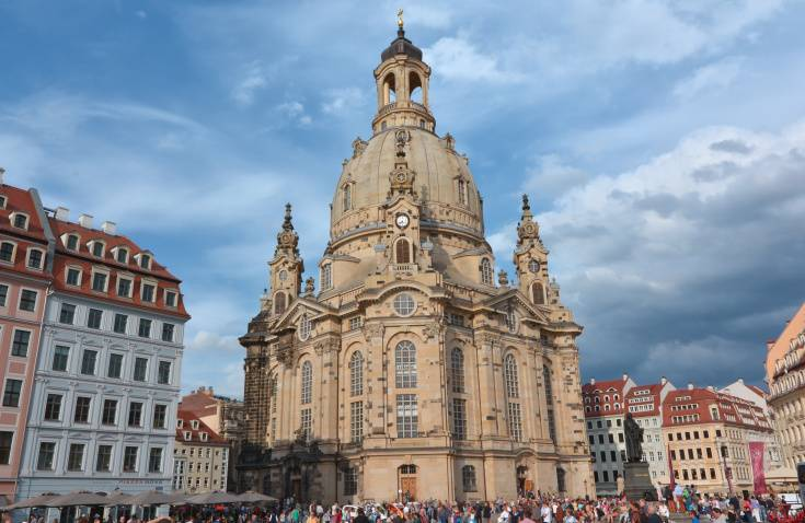 Dresden city center