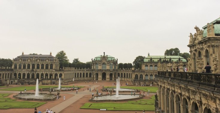 Sightseeing stop in Dresden
