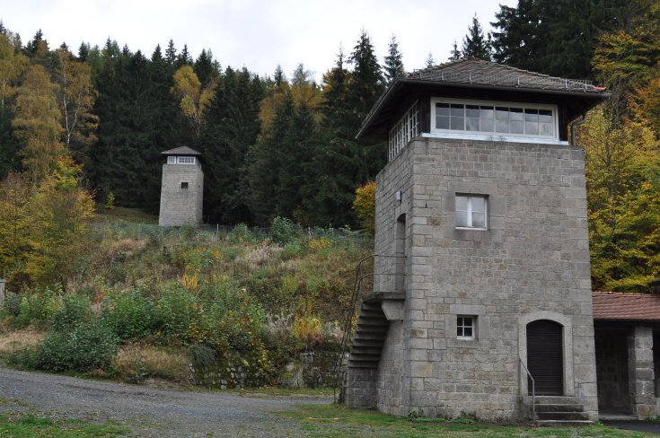 watch towers of Flossenburg
