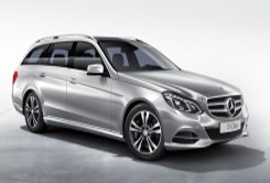 Mercedes Benz E class - luxury wagon to rent with a driver