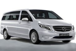 Mercedes Benz Vito - private minibus to hire