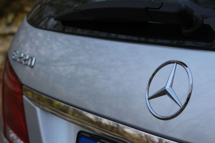 Mercedes Benz E class - Prague  Munich transportation