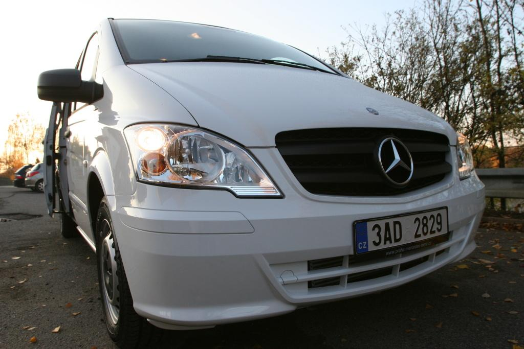 Mercedes Benz VITO - Brno Prague