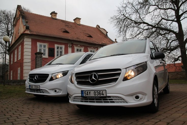 Mercedes Benz VITO TOURER SELECT- Prague Brno Transportation