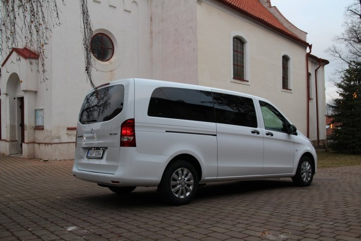 Mercedes Benz VITO TOURER SELECT- Prague Budapest Transportation
