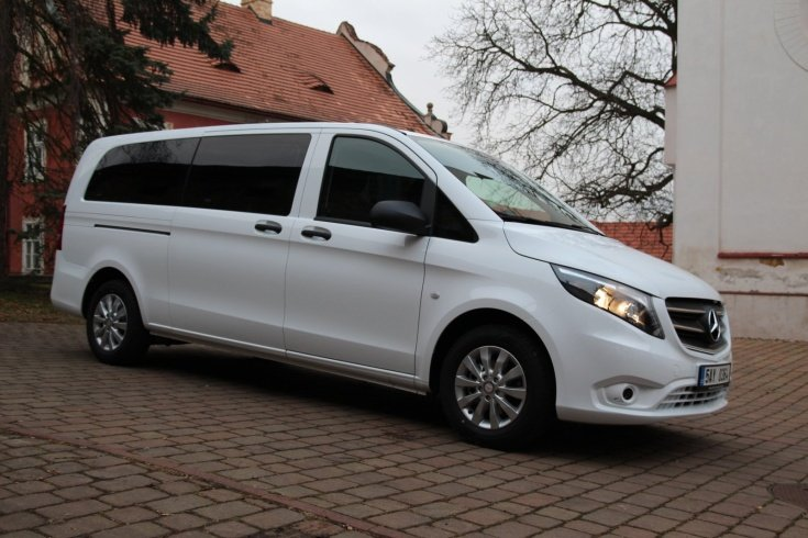Mercedes Benz VITO TOURER SELECT- Prague Nuremberg Transportation