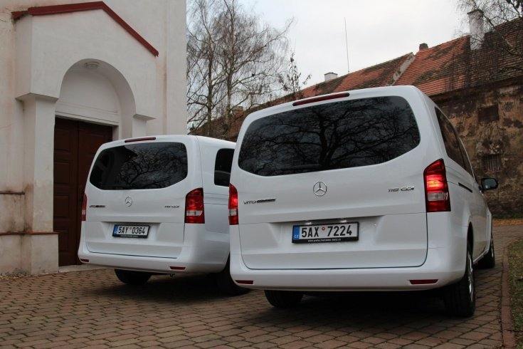 Mercedes Benz VITO TOURER SELECT- Prague Berlin Transportation