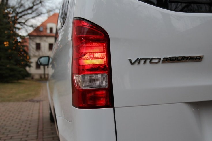 Mercedes Benz VITO TOURER SELECT- Prague Cesky Krumlov Transportation