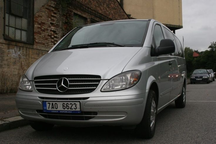 Mercedes Benz Transfers Prague Pilsen