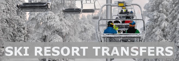 Ski and mountain resorts transfers